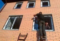 Монтаж решеток в Жигулевске