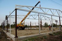 Восстановление геометрии металлоконструкций в Жигулевске и усиление зданий г.Жигулевск